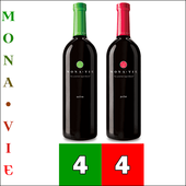 MonaVie ACTIVE® and PULSE™ Juice Combo - 1 Case each / 4 Bottles each