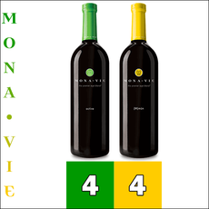 MonaVie ACTIVE® and (M)m?n™ Juice Combo - 1 Case each / 4 Bottles each